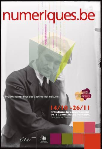 Affiche expo Numerique be
